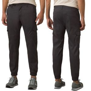 PRANA NWT Zogger Stretch Zion Pants Charcoal 33/30
